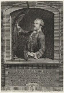 John Wilkes, by Johann Sebastian Müller, published by  Carington Bowles, published 1763 - NPG D37521 - © National Portrait Gallery, London