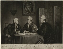 John Glynn; John Wilkes; John Horne Tooke, by Richard Houston, published by  Robert Sayer, published by  John Smith of Cheapside - NPG D37522
