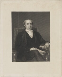 Thomas Sambrooke, by Francis Holl, after  Eden Upton Eddis - NPG D37144