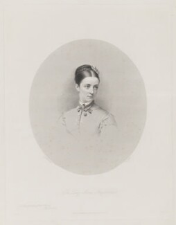 Lady Maria Henrietta Fitzclarence (née Scott), by Francis Holl, printed by  McQueen (Macqueen), published by and after  Dickinson Brothers - NPG D36940