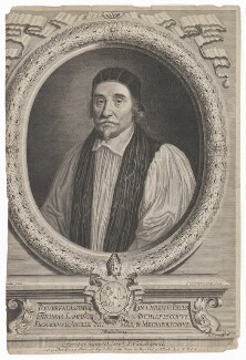 Thomas Lamplugh, by Peter Vanderbank (Vandrebanc), published by  Christopher Browne, after  Sir Godfrey Kneller, Bt - NPG D37147