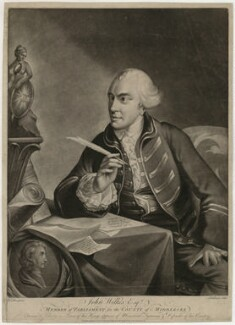 John Wilkes, published by Mary Darly, after  Kitchemer, after  Robert Edge Pine - NPG D37525