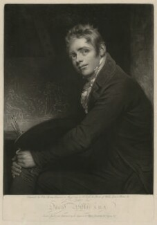 Sir David Wilkie, by and published by John Young, after  Sir William Beechey - NPG D37528
