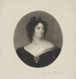 Mary Frances Fitzgerald, by George Raphael Ward, after  Sir Thomas Lawrence - NPG D36942