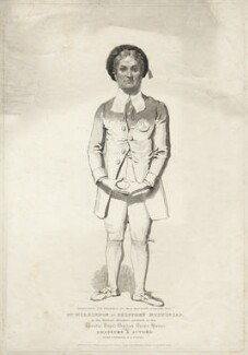James Pimbury Wilkinson as Geoffrey Muffincap in Sheridan's 'Amateurs and Actors', by Richard Brinsley Peake, published by  Colnaghi & Co, published by  William Fearman - NPG D37533