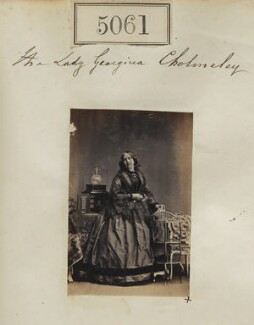 Lady Georgiana Cholmeley (née Beauclerk), by Camille Silvy - NPG Ax55066
