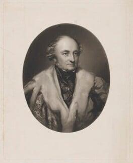 George John Danvers Butler, 5th Earl of Lanesborough, by William Walker, after  Richard Buckner - NPG D37158
