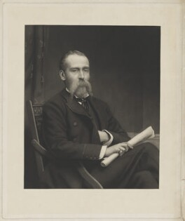 possibly Percy Seymour Fitzgerald, by Unknown artist - NPG D36941