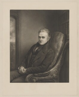 Zachary Langton, by John Linnell - NPG D37163