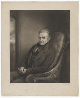 Zachary Langton, by John Linnell - NPG D37164