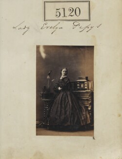 Lady Evelyn Courtenay (née Pepys), by Camille Silvy - NPG Ax55123