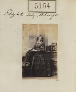 Elizabeth (née Steere), Lady Abinger, by Camille Silvy - NPG Ax55157