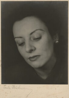 Phyllis Bergel (née Thomas), by Trude Fleischmann - NPG x133152