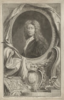 Thomas Wharton, 1st Marquess of Wharton, by Jacobus Houbraken, published by  John & Paul Knapton, after  Sir Godfrey Kneller, Bt - NPG D37541