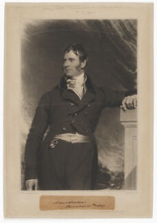 Henry Petty-Fitzmaurice, 3rd Marquess of Lansdowne, by John Charles Bromley, published by  Paul and Dominic Colnaghi & Co, after  Sir Thomas Lawrence - NPG D37172