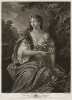 Anne Wharton (née Lee), by Richard Earlom, after  Sir Peter Lely, published by  John Boydell - NPG D37544