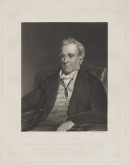 Henry Petty-Fitzmaurice, 3rd Marquess of Lansdowne, by John Richardson Jackson, published by  Messrs Fores, after  Sir Francis Grant - NPG D37173