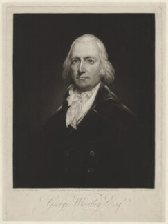 George Wheatley, by and published by Samuel William Reynolds, after  John Westbrooke Chandler - NPG D37550