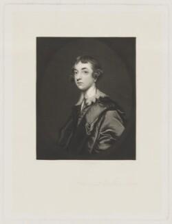 William Wentworth Fitzwilliam, 2nd Earl Fitzwilliam, by Robert Bowyer Parkes, after  Sir Joshua Reynolds - NPG D36956