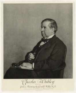 Charles Whibley, published by Emery Walker Ltd, after  Sir Gerald Kelly - NPG D37555