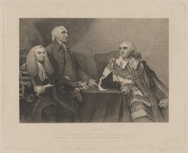 'Junius', by G.F. Storm, printed by  S.H. Hawkins, published by  John Britton, after  Sir Joshua Reynolds - NPG D37177