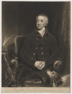 William Wentworth Fitzwilliam, 2nd Earl Fitzwilliam, by and published by Samuel William Reynolds, after  William Owen, 1818 (1817) - NPG D36957 - © National Portrait Gallery, London