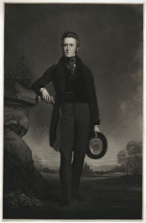 Robert Whigham, by Edward Burton, published by  Colnaghi & Co, after  Colvin Smith - NPG D37556