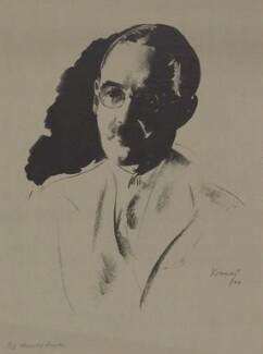 Harold Laski, by Jacob Kramer - NPG D37178