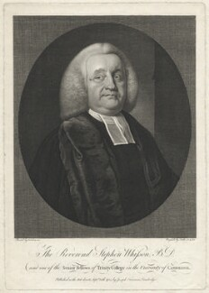 Stephen Whisson, by Thomas Trotter, published by  Joseph Freeman, after  Frans van der Mijn (or Myn) - NPG D37557