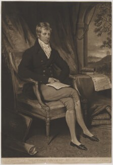 Charles William Wentworth Fitzwilliam, 3rd Earl Fitzwilliam, by William Ward, after and published by  John Raphael Smith - NPG D36959