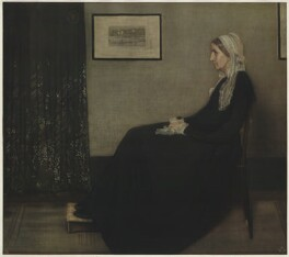 Anna McNeill Whistler ('Arrangement in Grey and Black: The Artist's Mother'), published by The Medici Society Ltd, after  James Abbott McNeill Whistler - NPG D37559