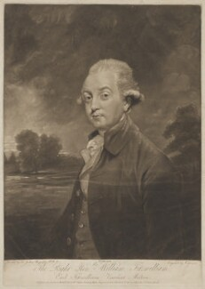 William Wentworth Fitzwilliam, 2nd Earl Fitzwilliam, by Joseph Grozer, published by  William Austin, after  Sir Joshua Reynolds - NPG D36961