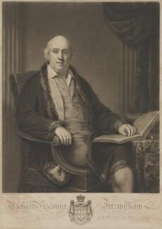 Richard Fitzwilliam, 7th Viscount Fitzwilliam, by Charles Turner, after  Henry Howard - NPG D36962
