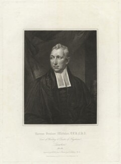 Thomas Dunham Whitaker, by William Holl Sr, published by  Robinson, Son & Holdsworth, published by  J. Hurst, after  James Northcote - NPG D37561