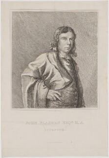John Flaxman, by M. de Clauson, published by  M.A. Nattali, after  John Flaxman, published 1833 (1779) - NPG D36967 - © National Portrait Gallery, London