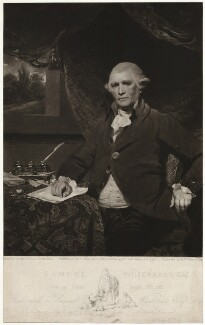 Samuel Whitbread the Elder, by and published by Samuel William Reynolds, after  Sir Joshua Reynolds - NPG D37562