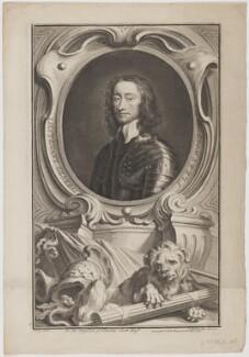 Charles Fleetwood, by Jacobus Houbraken, published by  John & Paul Knapton, after  Robert Walker - NPG D36973