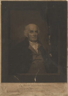 Sir Henry Fletcher, 1st Bt, by John Young, published by  Josiah Boydell, after  John Keenan - NPG D36979