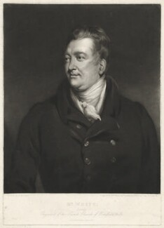 Mr White, by William James Ward, after  George Marshall - NPG D37569