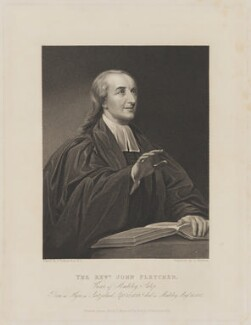 John William Fletcher, by James Thomson (Thompson), published by  John Mason, after  John Jackson - NPG D36983