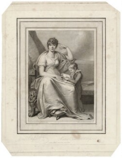 Mary Whitefoord (née Sidday) and Master Charles Whitefoord, by James Anthony Minasi, after  Richard Cosway - NPG D37570