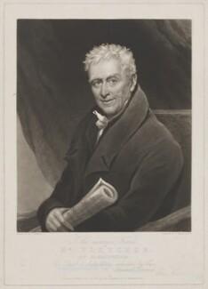 Mr Fletcher, by Charles Turner, published by and after  Charles Ambrose - NPG D36986