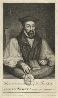 John Whitgift, by George Vertue - NPG D37572
