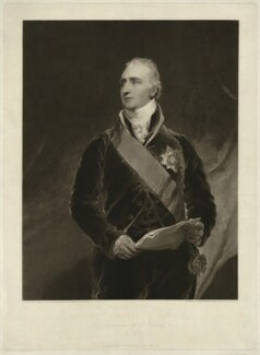 Charles Whitworth, 1st Earl Whitworth, by Charles Turner, published by  Colnaghi & Co, after  Sir Thomas Lawrence, published 1 December 1814 - NPG D37576 - © National Portrait Gallery, London