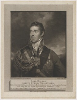 Arthur Wellesley, 1st Duke of Wellington, by and published by William Skelton, after  Sir William Beechey - NPG D37583