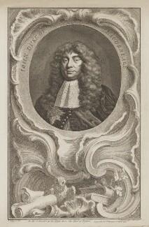 John Maitland, Duke of Lauderdale, by Jacobus Houbraken, published by  John & Paul Knapton, after  Sir Peter Lely - NPG D37191