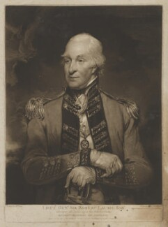 Sir Robert Laurie, 5th Bt, by James Ward, after  William Owen - NPG D37195