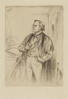 Simon Somerville Laurie, by William Brassey Hole - NPG D37196