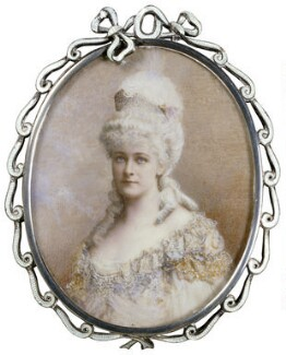 Frances Evelyn ('Daisy') Greville (née Maynard), Countess of Warwick as Marie Antoinette, by Lafayette - NPG x133158