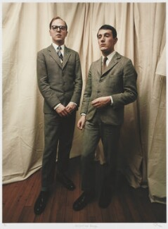 Gilbert & George, by Julian Cottrell - NPG x133161
